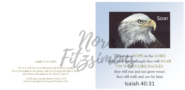 Sore On The Wings Like Eagles 2 - Faith Card