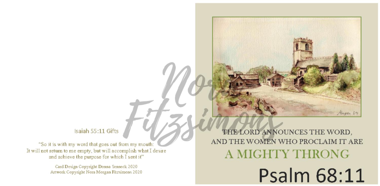 A Mighty Throng - Faith Card