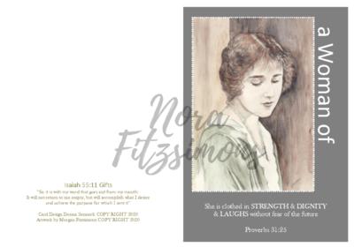 Strength And Dignity - Woman - Faith Card
