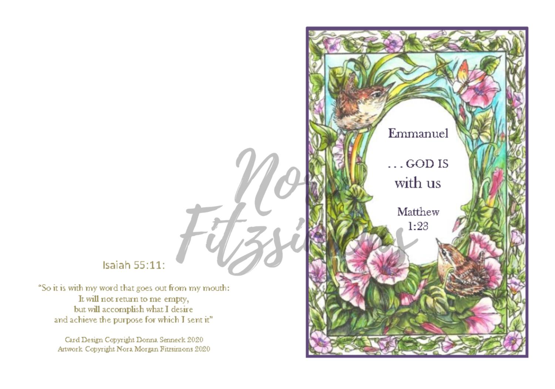 God Is With Us - Faith Card