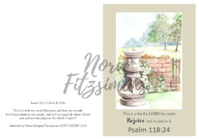 Rejoice - Faith Card
