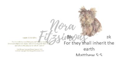 Blessed Are The Meek - Faith Card