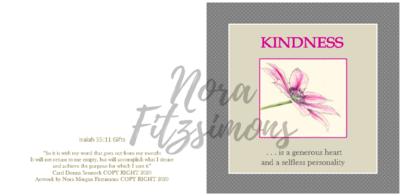 Kindness Clematis - Faith Card