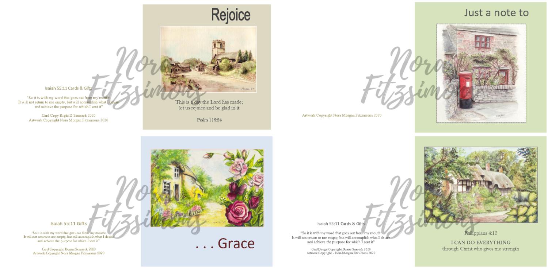 Home Faith Cards 2 - 4 pcs Bundle