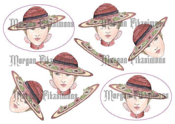 3D 1920s Hat Sheet 1