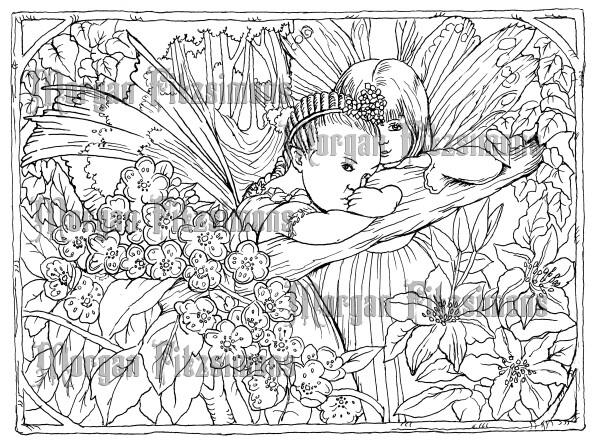 Fairy Children 5 - Digital Stamp