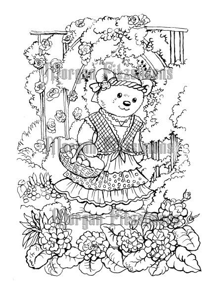 Teddy 2 - Digital Stamp
