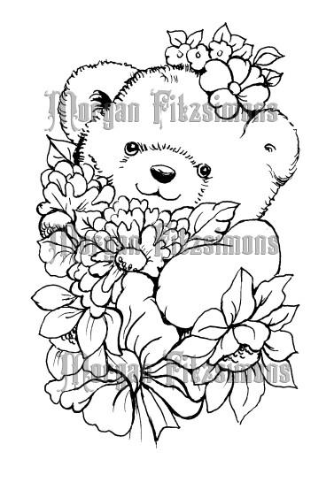 Teddy 1 - Digital Stamp