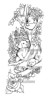 Puppies and Kittens - Digital Stamp