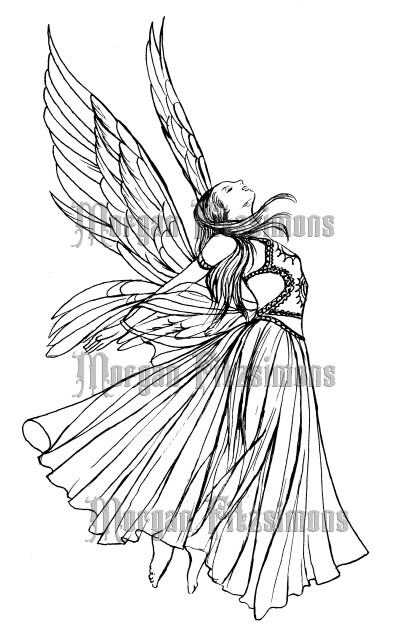 Angel 1 - Digital Stamp