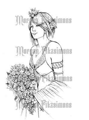 Wedding 5 - Digital Stamp