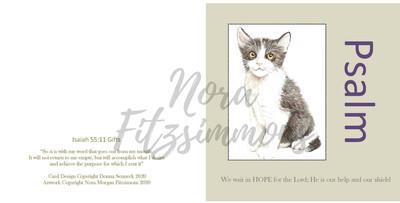 Kitty - Faith Card
