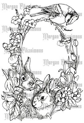 Easter 7 - Digital Stamp