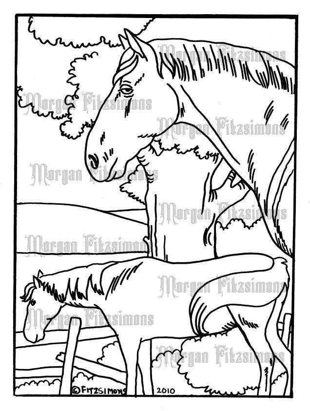 Story Talk Horse Riders 2 - Digital Stamp