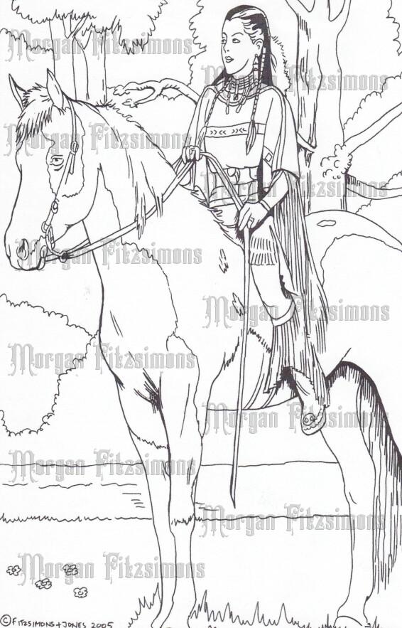 Story Talk Horse Riders 4 - Digital Stamp