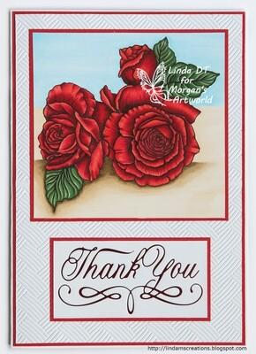 Flower Set 2 - Digital Stamp