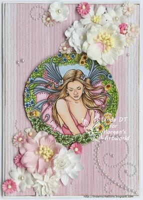 Fantasy Fae 57 - Digital Stamp