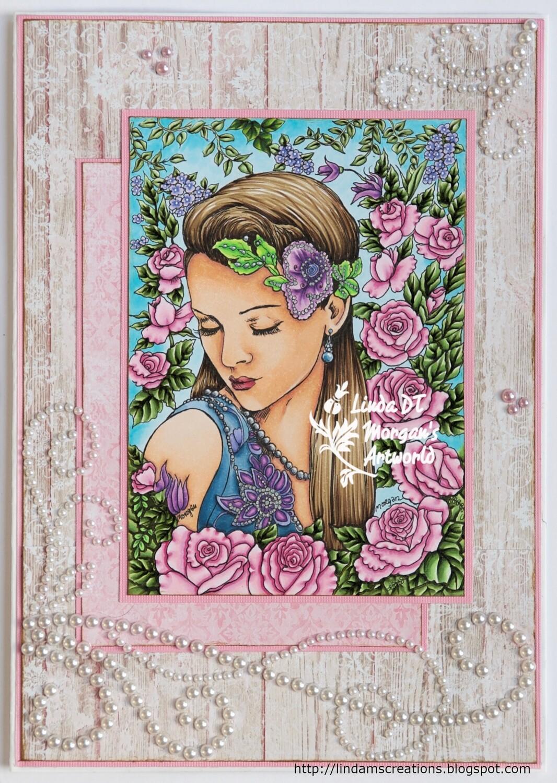 Fantasy Fae 56 - Digital Stamp