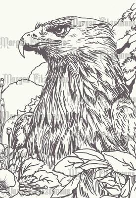 Eagle 2 - Digital Stamp