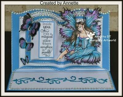 Fantasy Fae 61 - Digital Stamp