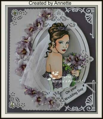 Wedding 6 - Digital Stamp