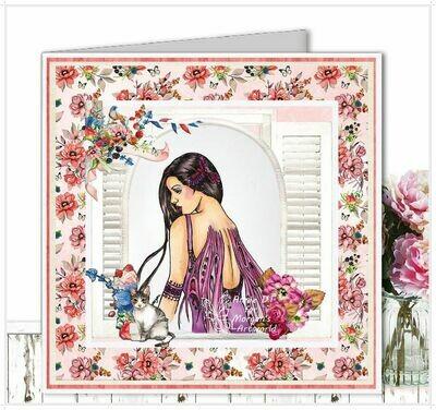 Fantasy Fae 15 - Digital Stamp