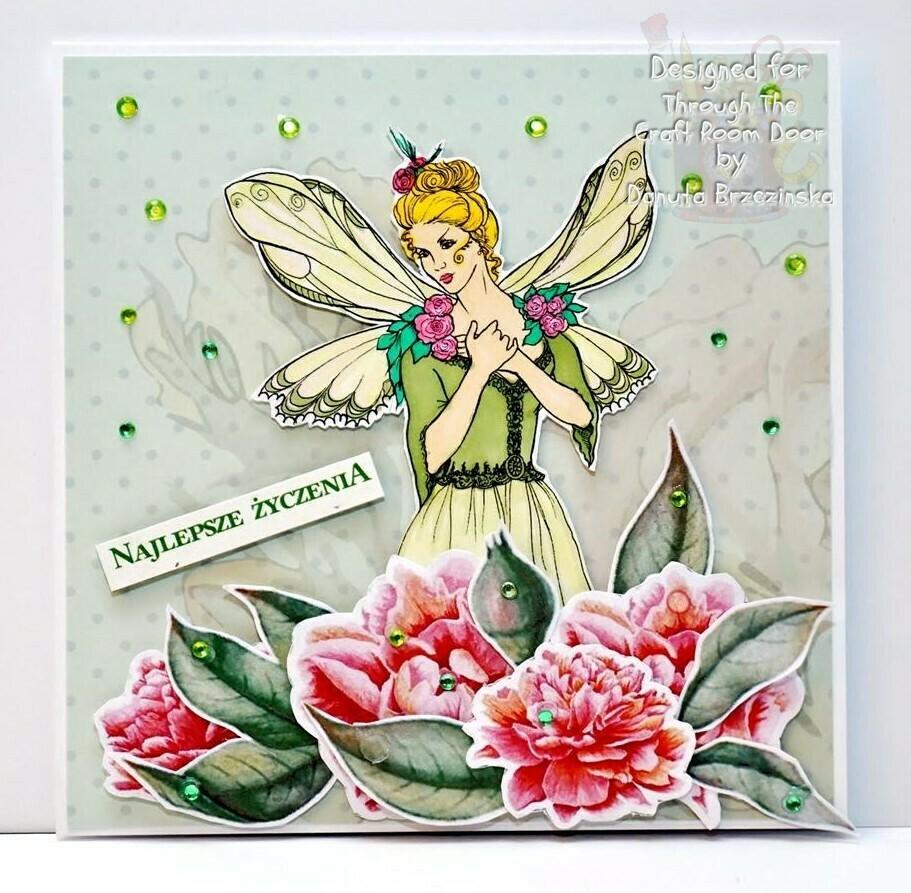 Amy Goth Fairy 33 - Digital Stamp