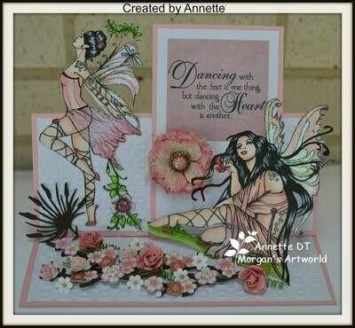 Fantasy Fae 27 - Digital Stamp