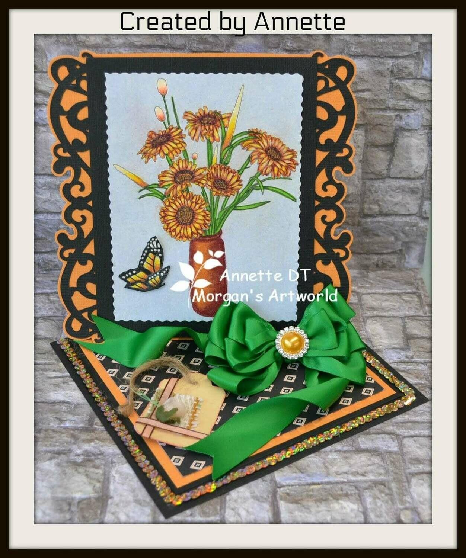 Flowers 3 - Digital Stamp