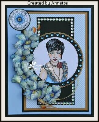 Helen Cameo 4 - Digital Stamp
