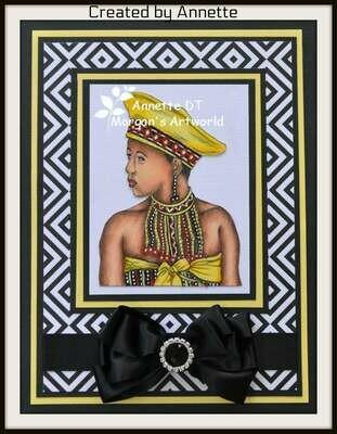 Zulu - Digital Stamp