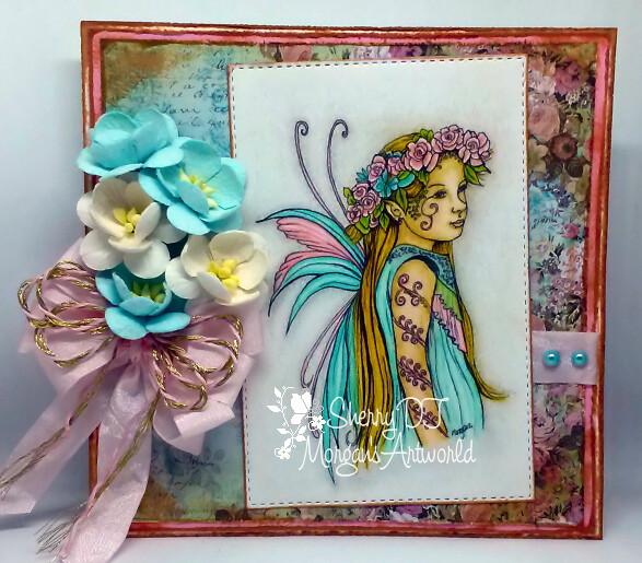 Fairy Child 3 - Digital Stamp
