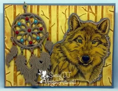 Wolf Set - Digital Stamps