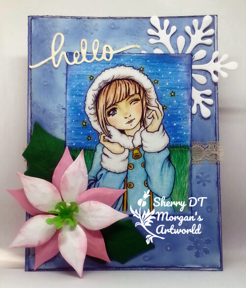 Winter 10 - Digital Stamp