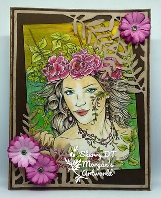 Fantasy Fae 40 - Digital Stamp