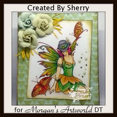 Shades Of Green 37 - Digital Stamp