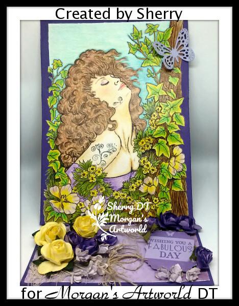 Fantasy Fae 49 - Digital Stamp