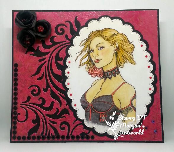 Zara Cameo 5 - Digital Stamp