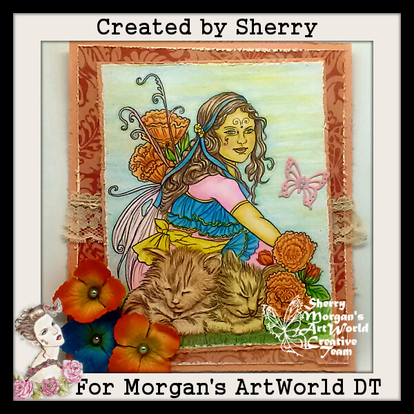 Fairy Child 7 - Digital Stamp