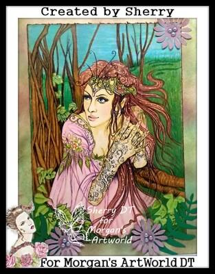 Fantasy Fae 4 - Digital Stamp