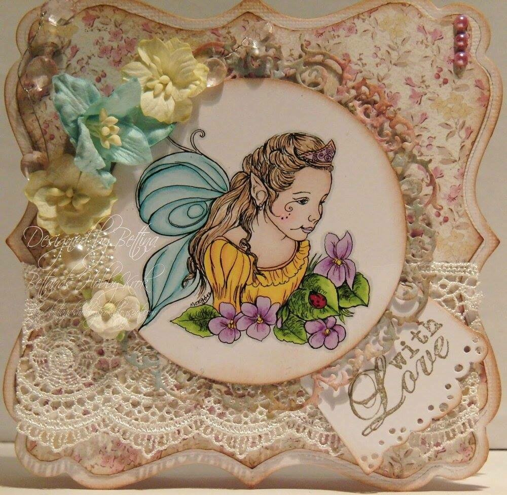Fairy Child 4 - Digital Stamp