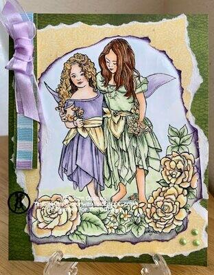 Fairy Children 6 - Digital Stamp