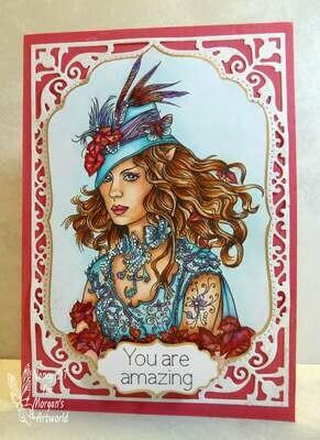 Ivy Greenleaf 17 - Digital Stamp