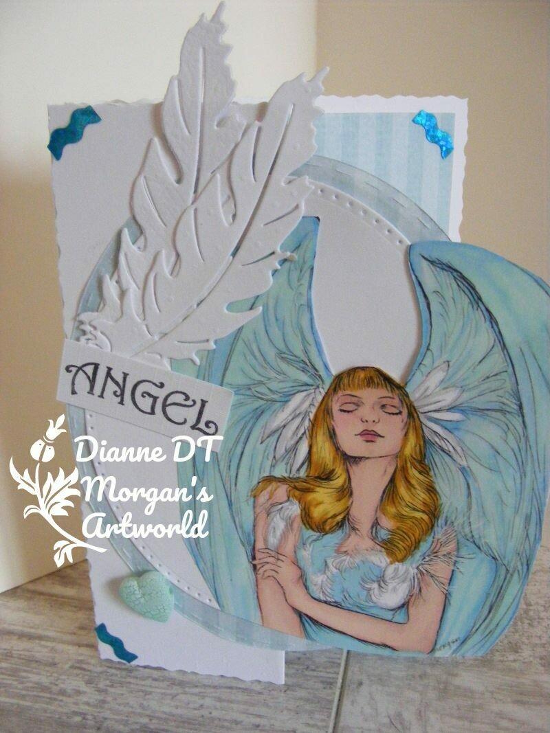Angel - Digital Stamp
