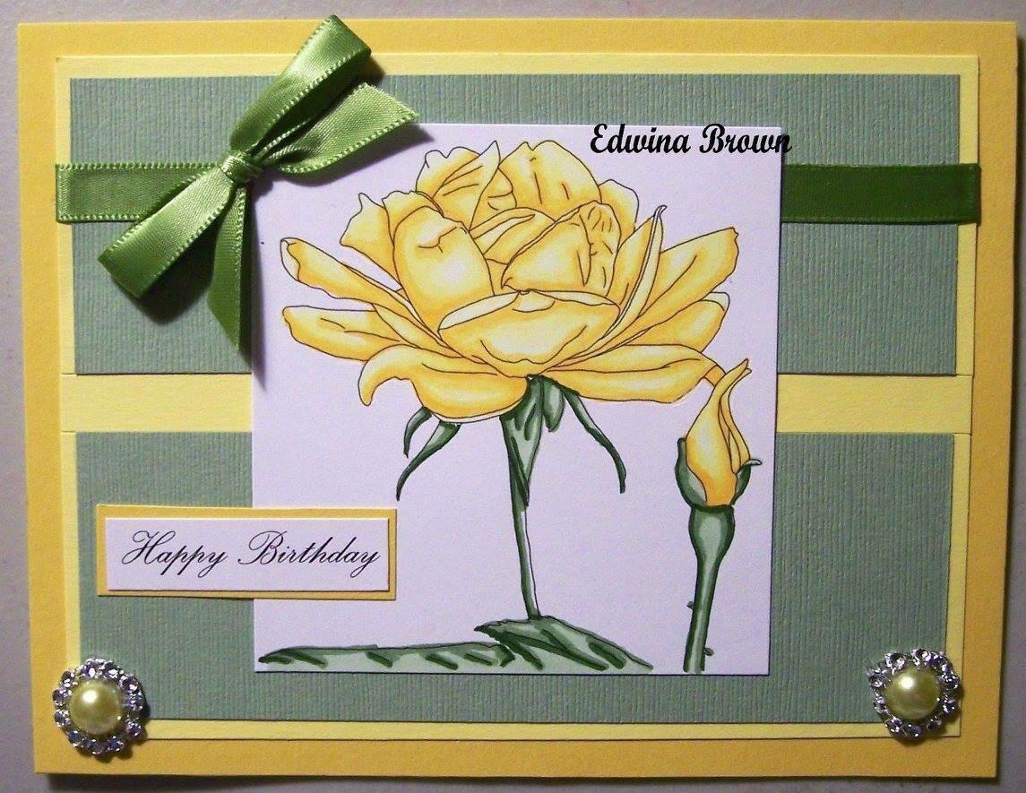 Flowers 1 - Digital Stamp