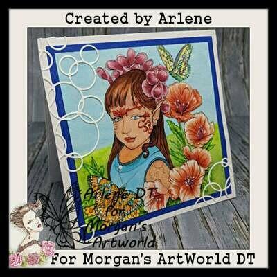 Fairy Child 2 - Digital Stamp