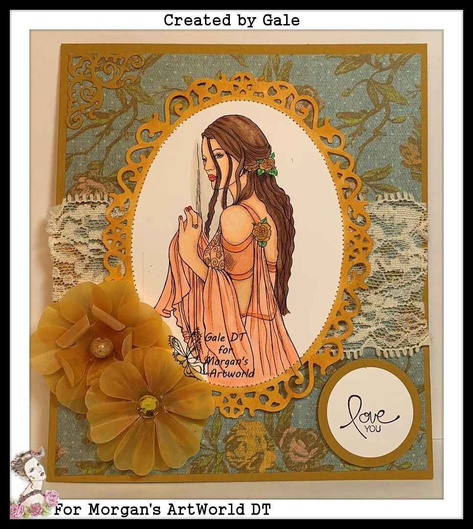 Fantasy Fae 25 - Digital Stamp
