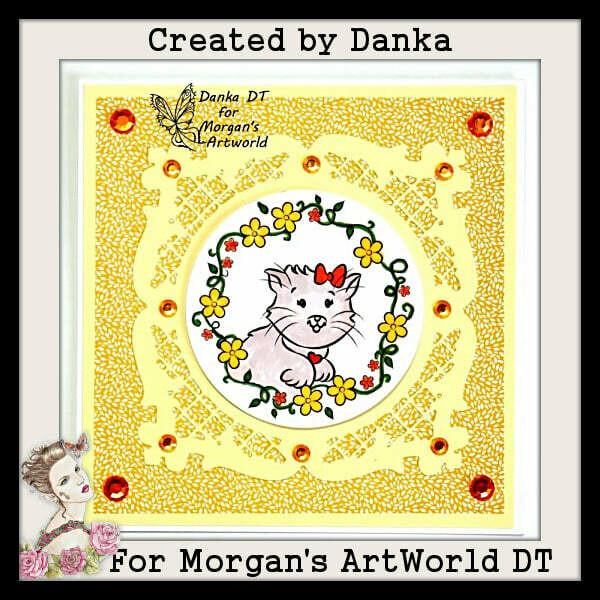Kitten Queen Duchess 1 - Digital Stamp