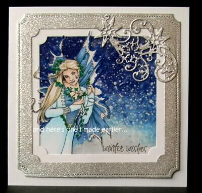Fantasy Fae 9 - Digital Stamp