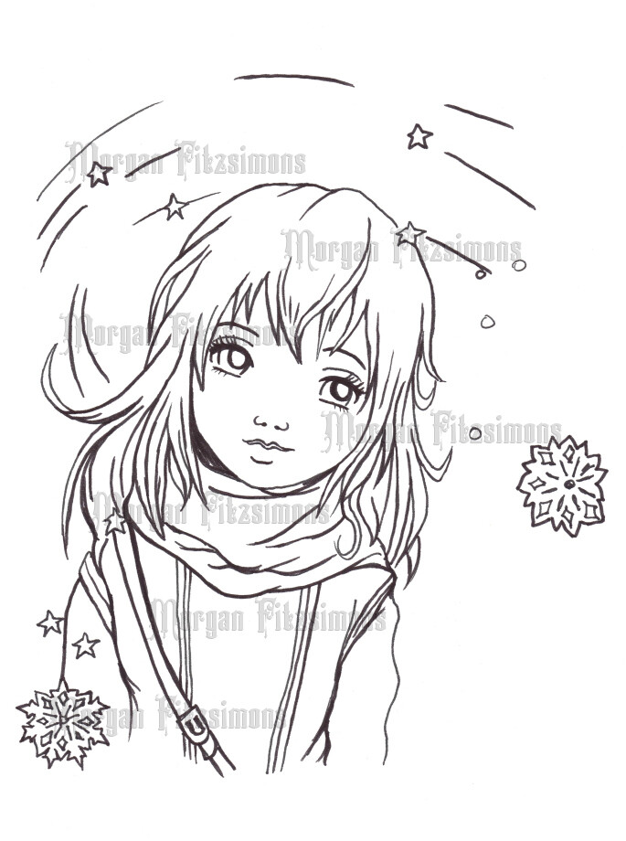 Winter 9 - Digital Stamp